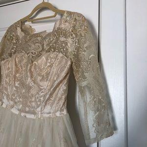 Chi Chi London Champagne dress